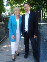 Hannelore Kraft und Martin Eberl